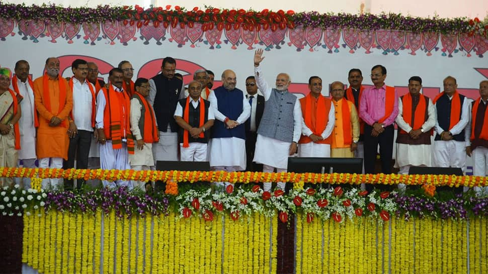 PM Modi once again thanks people of Gujarat for BJP's win in Assembly polls