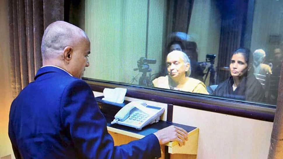 Sushma Swaraj explains how Pakistan's theory of 'chip in shoe' of Jadhav's wife is farce