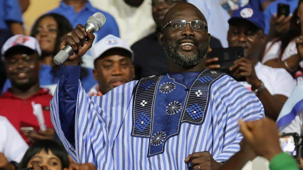 1995 Ballon d'Or winner George Weah set to win Liberia presidency after 98.1 percent of all votes counted