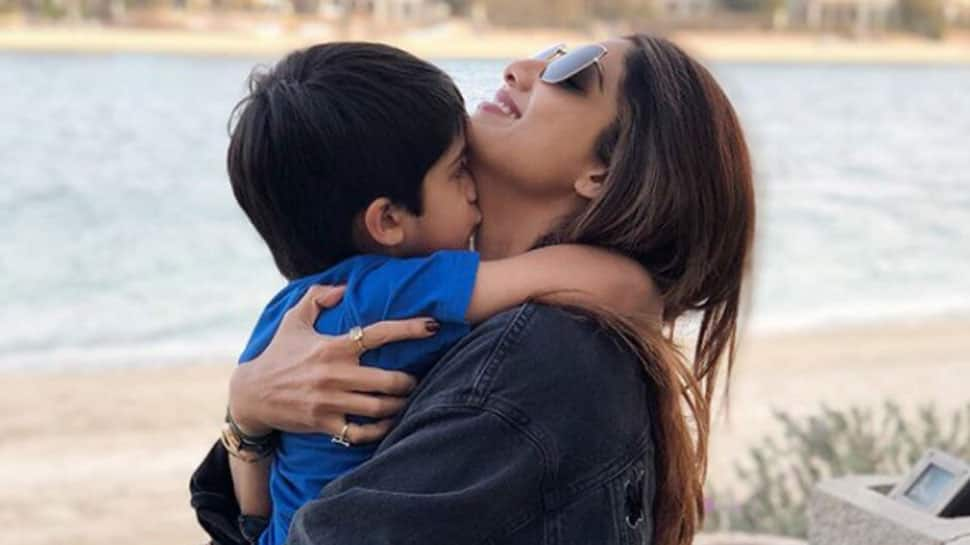 Shilpa Shetty Kundra's latest pics with hubby and son will give you family goals