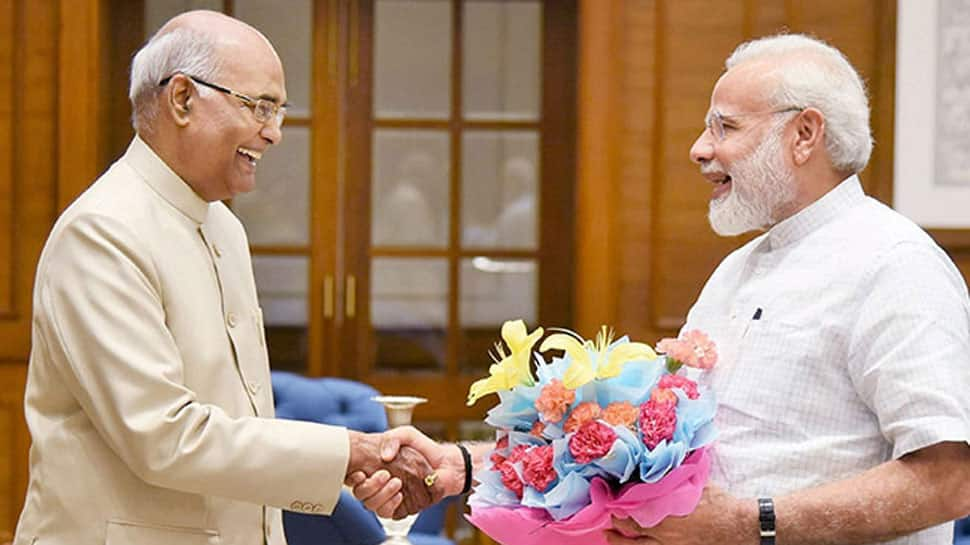 President Ram Nath Kovind, Prime Minister Narendra Modi wish nation on new year