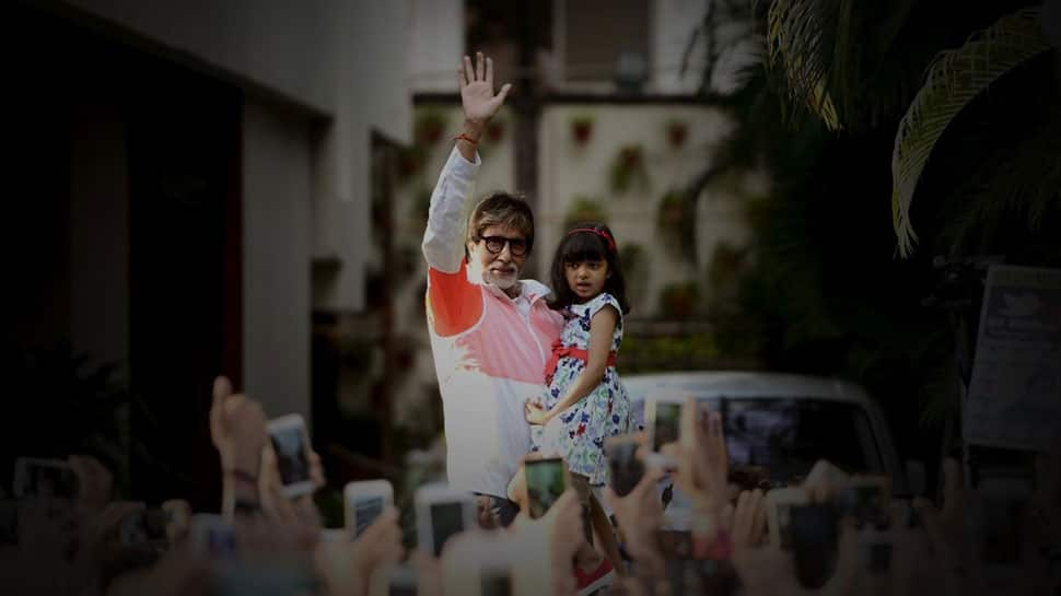 Amitabh Bachchan's latest pics with granddaughter Aaradhya are too cute- See pics