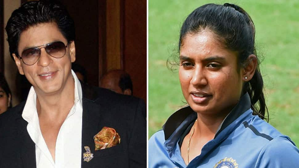 Shah Rukh Khan wants Mithali Raj to coach Indian men's cricket team one day