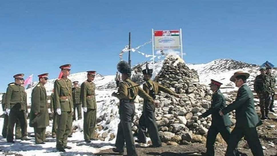 Chinese troops crossed into Indian territory with road construction equipment, stopped by Indian Army