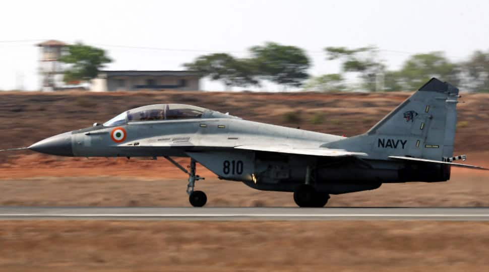 Navy's MiG-29K aircraft veers off runway at Goa airport