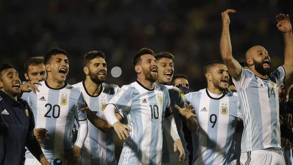 Argentina coach Jorge Sampaoli observing '45 to 60' players for 2018 FIFA World Cup in Russia