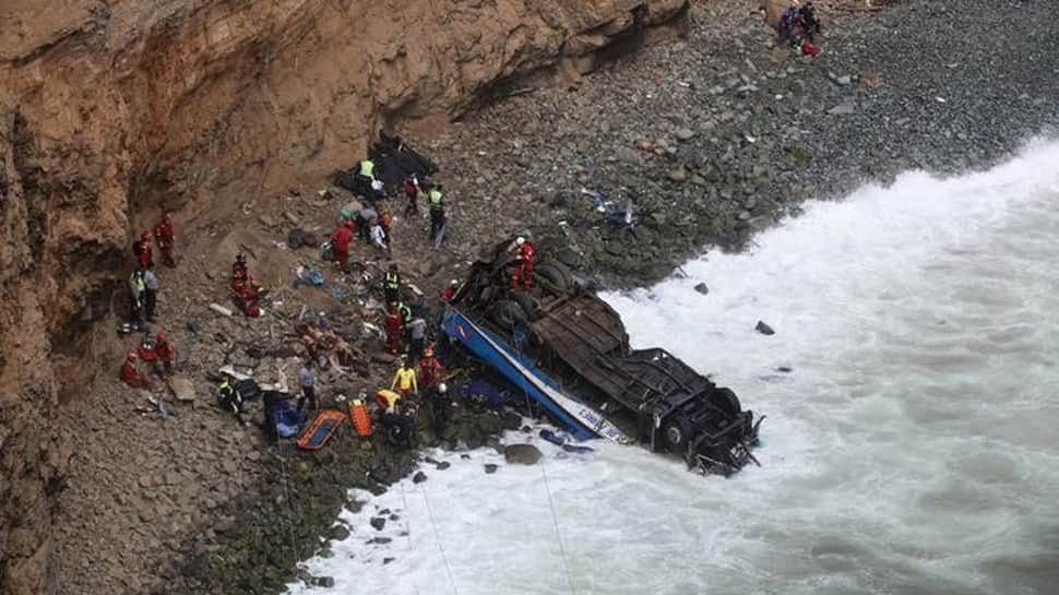 Death toll from Peru bus crash rises to 48: Emergency services