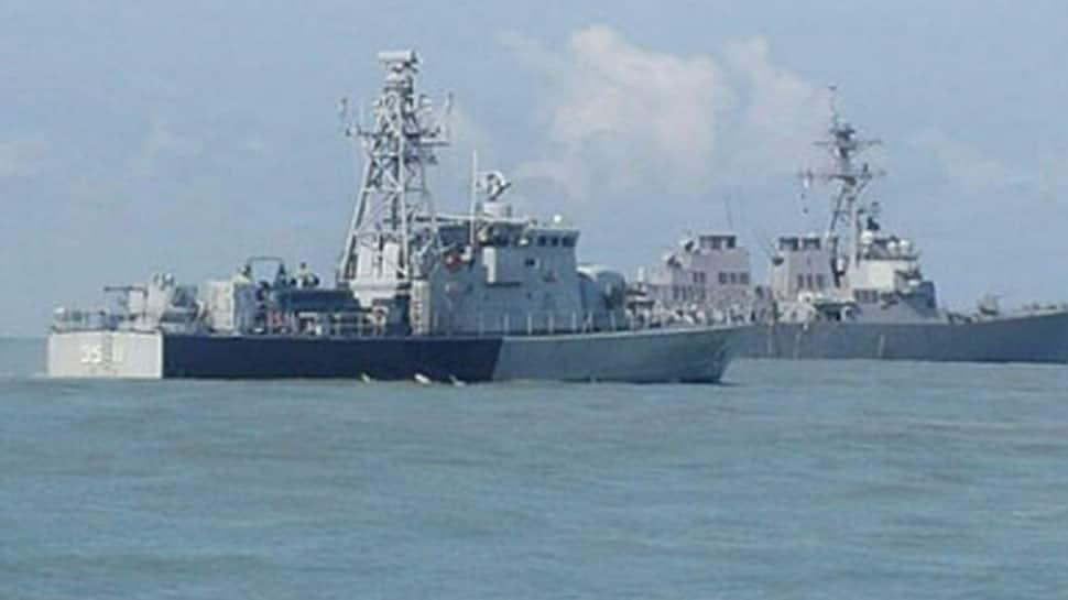 Pakistan test-fires naval cruise missile 'Harba'