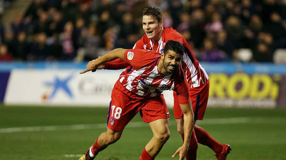 Diego Costa scores five minutes after return in Atletico Madrid's easy win in Copa del Rey