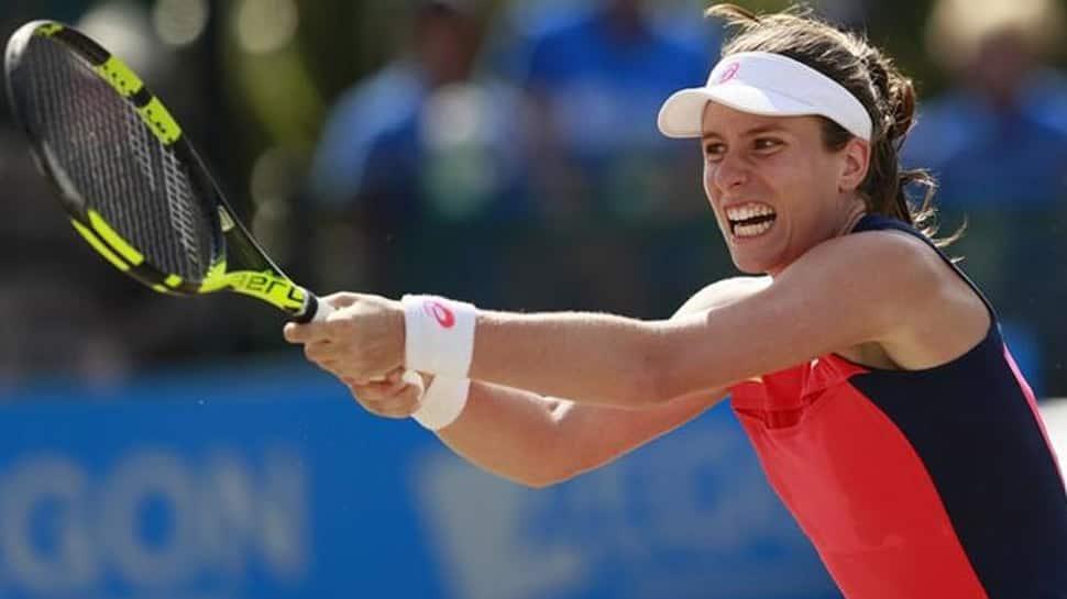 Johanna Konta fails to finish her Brisbane International QF due to injury