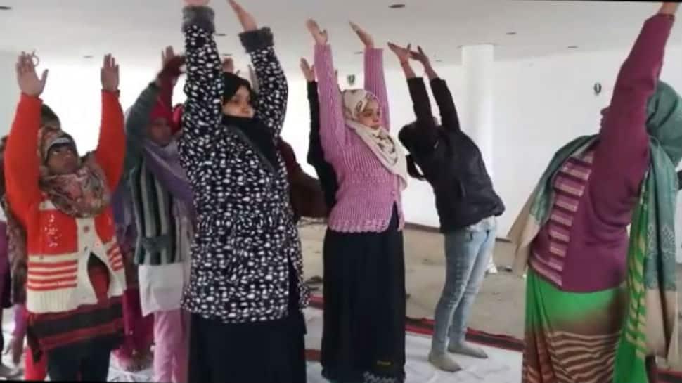 Yoga knows no religion: Muslim women in Rampur participate in special classes