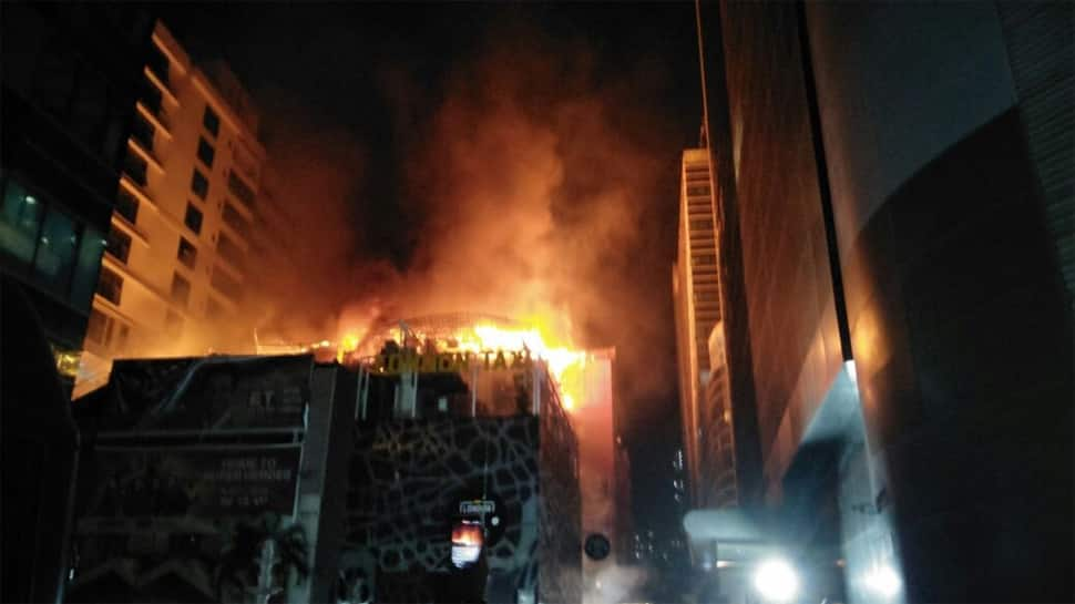 Kamala Mills tragedy: Fire department's report pins blame on hookah charcoal at Mojo's Bistro