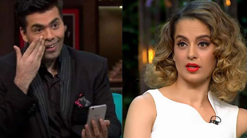Karan Johar will be happy to have Kangana Ranaut on India's Next Superstars