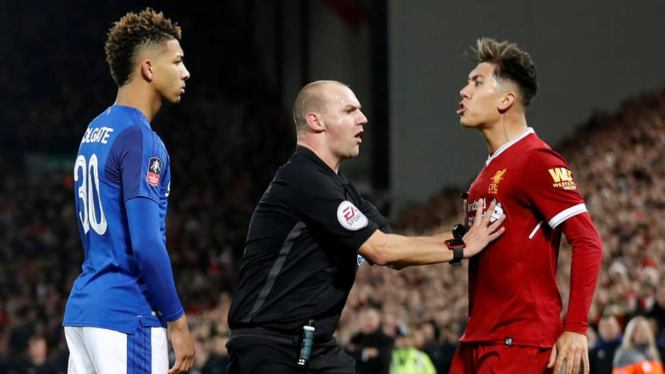 Liverpool to cooperate with FA over Mason Holgate-Roberto Firmino incident