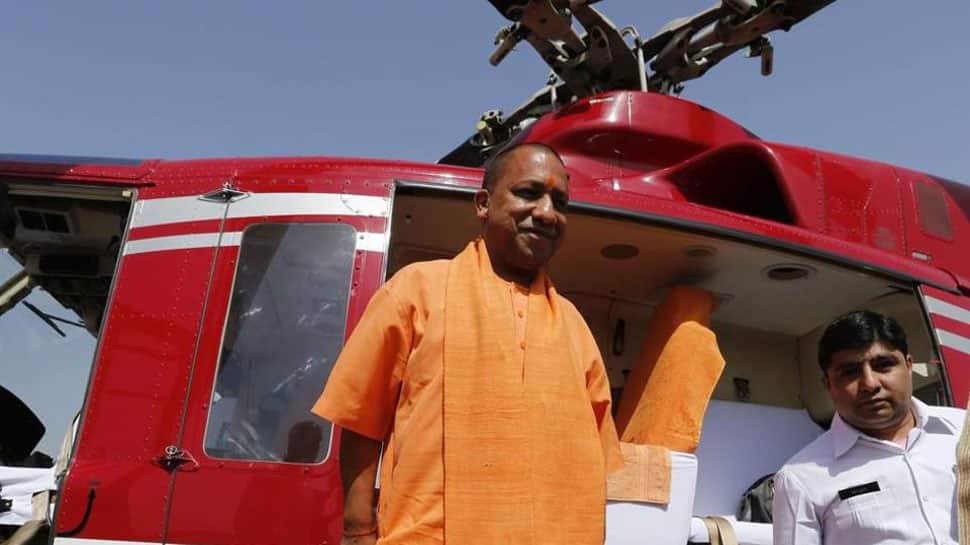 Quintals of potatoes thrown at CM Yogi Adityanath's house in Lucknow