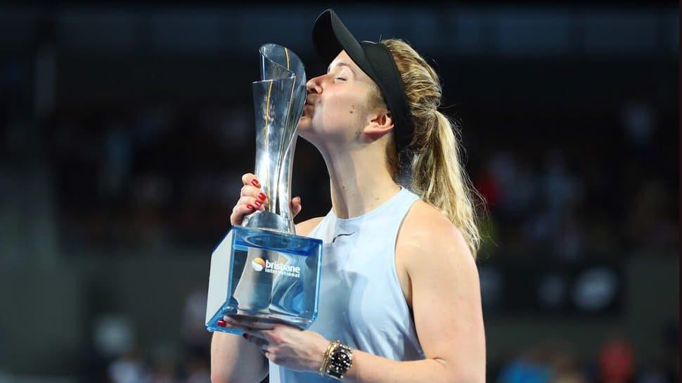 Brisbane International: Elina Svitolina wins title, sends Australian Open warning