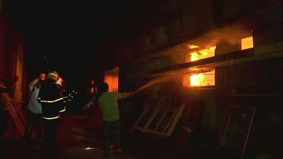 Fire breaks out in Mumbai's Cinevista studio, 150 crew members evacuated