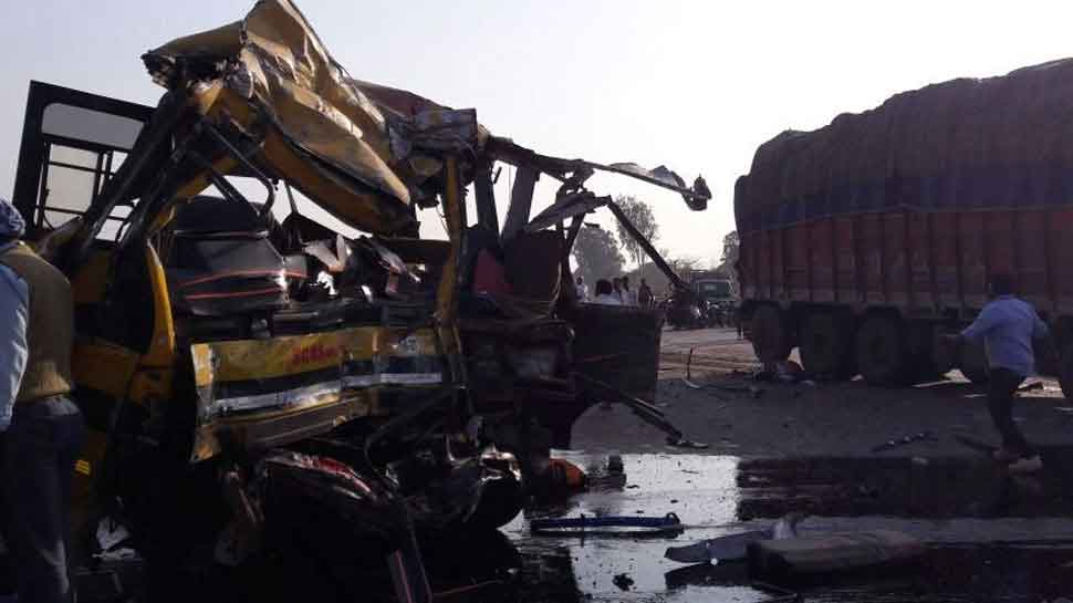 Two arrested after 5 DPS students, driver die in Indore bus accident