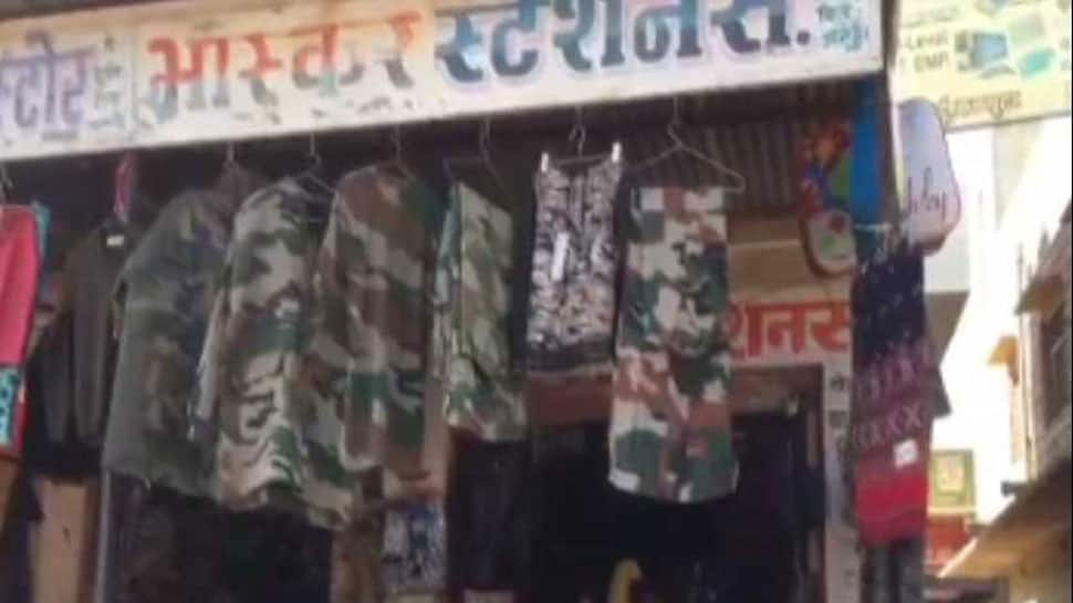 Indian Army uniforms available for Rs 500 in Rajasthan