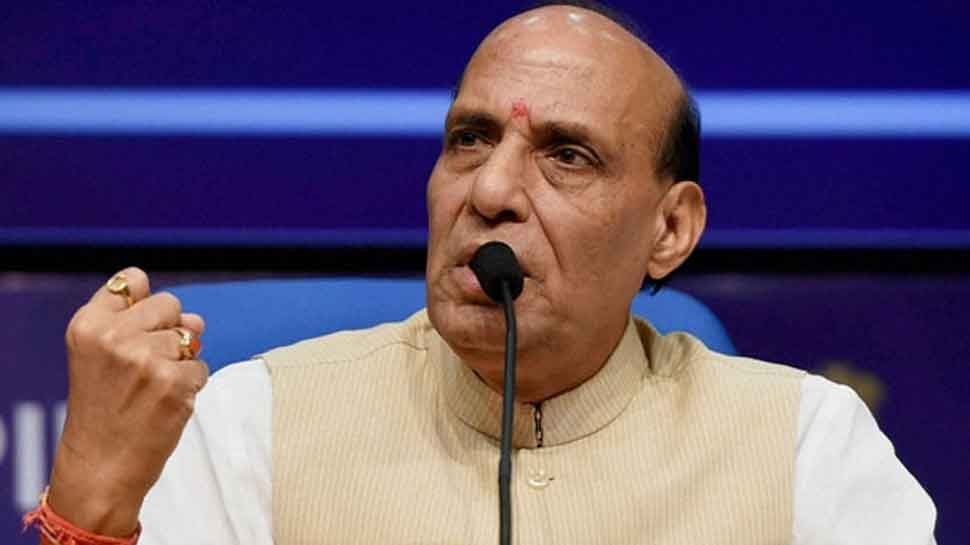 Pakistan inciting J&K youths against India: Rajnath Singh