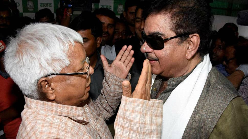 Shatrughan Sinha 'anguished' by jail term given to Lalu, talks of 'expected events'