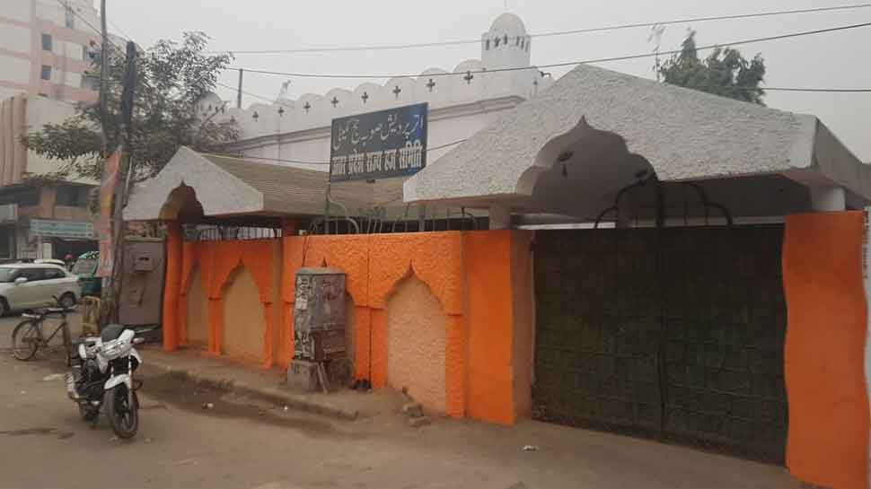 After UP Haj House wall, Lucknow police station painted saffron