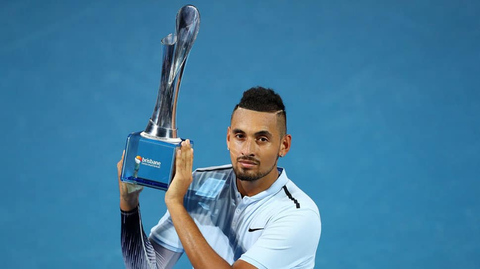 Nick Kyrgios up four spots to No. 17 in ATP rankings
