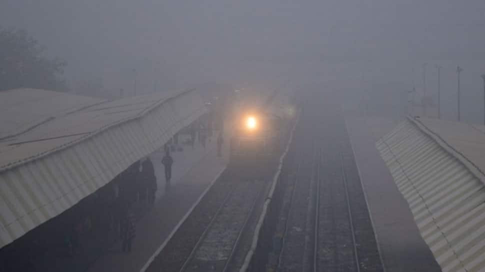 Dense fog engulfs Delhi; 68 trains delayed, 19 cancelled