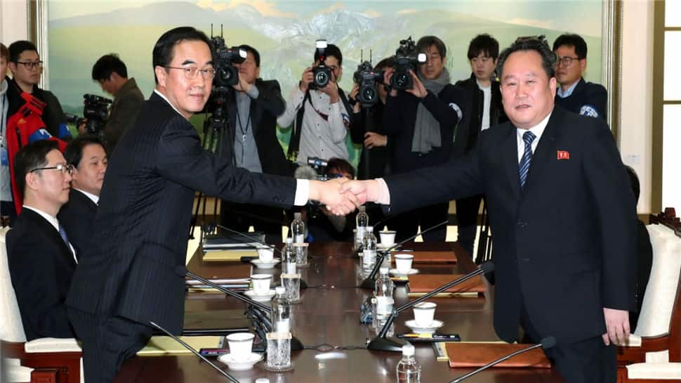 South and North Korea begin first official talks in two years