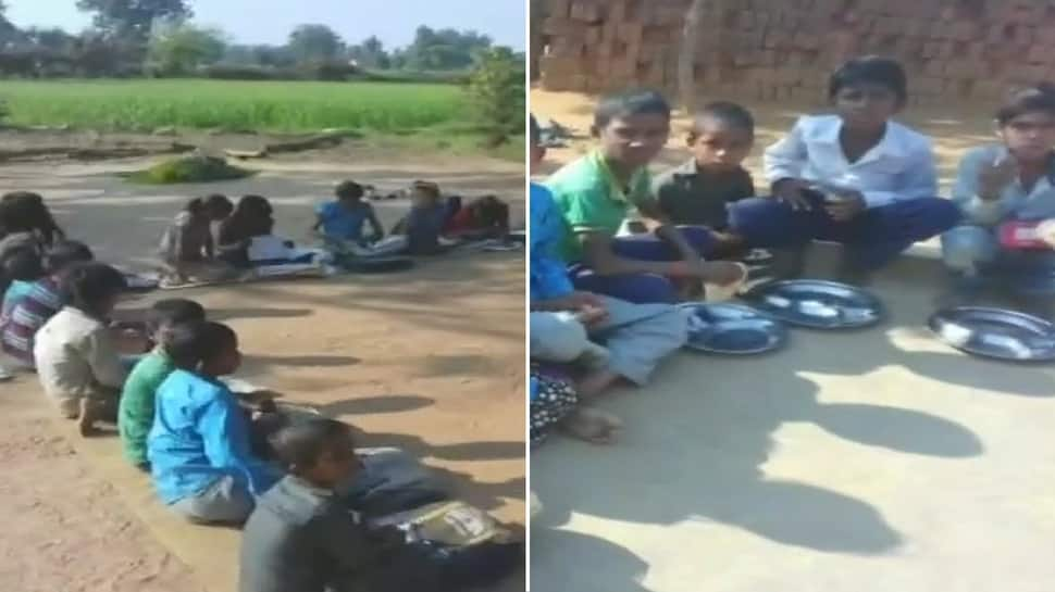 Students served salt and chapati in mid-day meal at Madhya Pradesh school