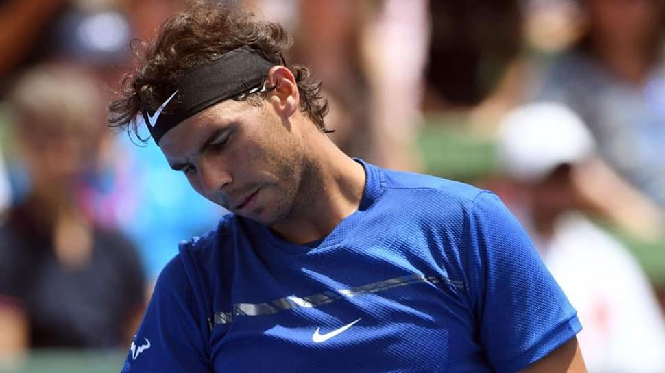 Rafael Nadal loses at Kooyong Classic but injured knee 'fine'