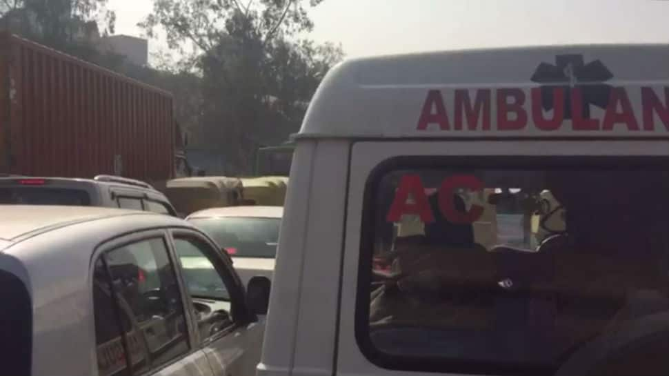 Repairing Delhi's Lajpat flyover takes massive toll on traffic, ambulance too gets gridlocked