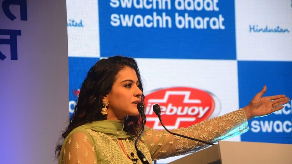 Kajol named Swachh Aadat Swachh Bharat ambassador