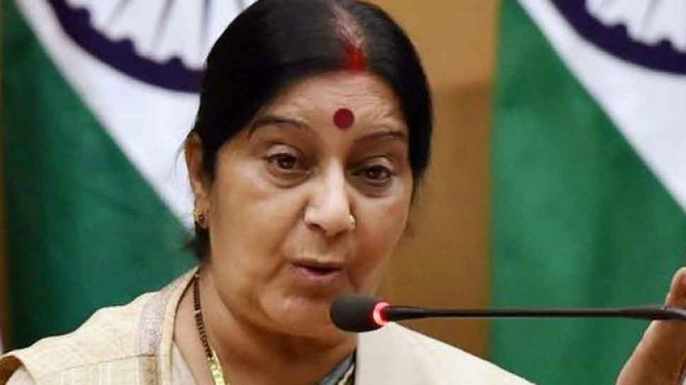 Sushma Swaraj comes to aid of Indian woman stranded with son's body at Malaysia airport