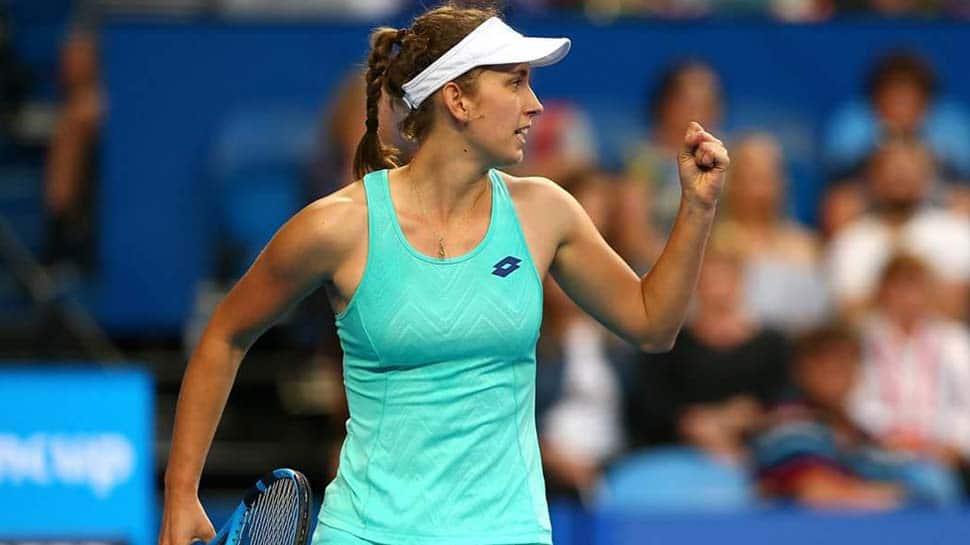 Elise Mertens defends Hobart International title with win over Mihaela Buzarnescu