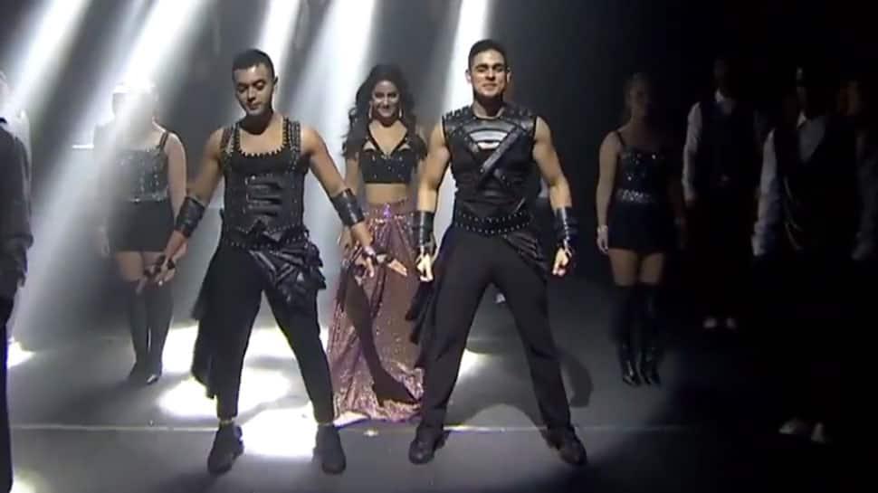 Bigg Boss 11: Hina Khan sizzles with friends Luv Tyagi and Priyank Sharma – Watch