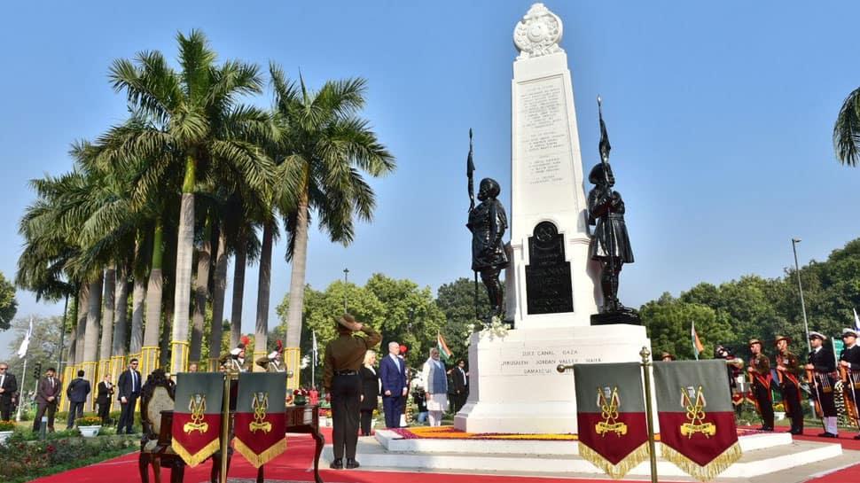 Delhi's Teen Murti Chowk renamed after Israeli city Haifa; PM Modi, Benjamin Netanyahu attend ceremony