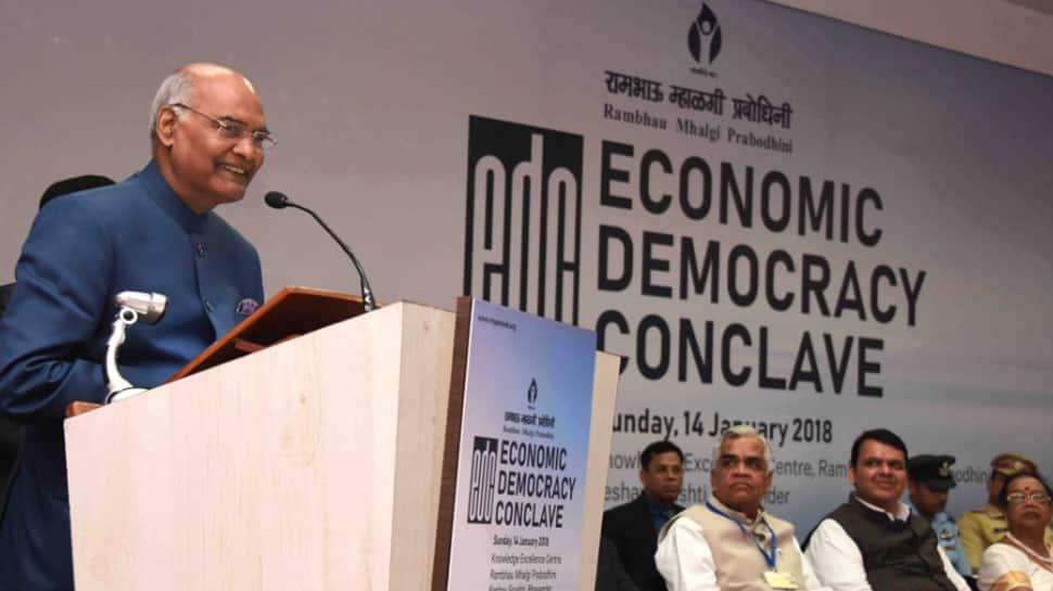 Entrepreneurship can strengthen democracy, society: President