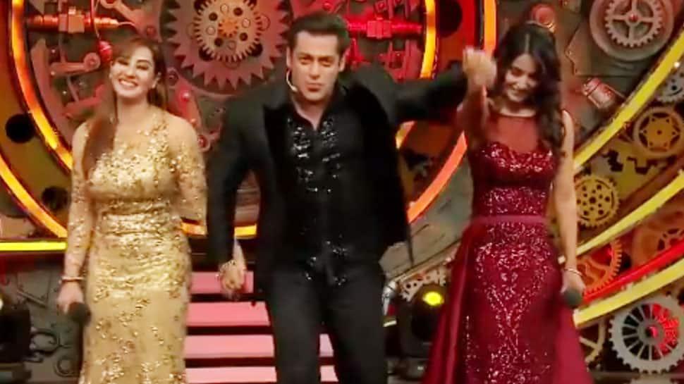Bigg Boss 11 grand finale: Shilpa Shinde's winning moment with Salman Khan– Watch