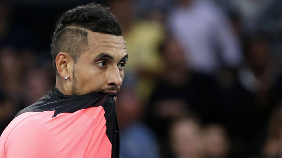 Nick Kyrgios collects code violation in easy Australian Open win