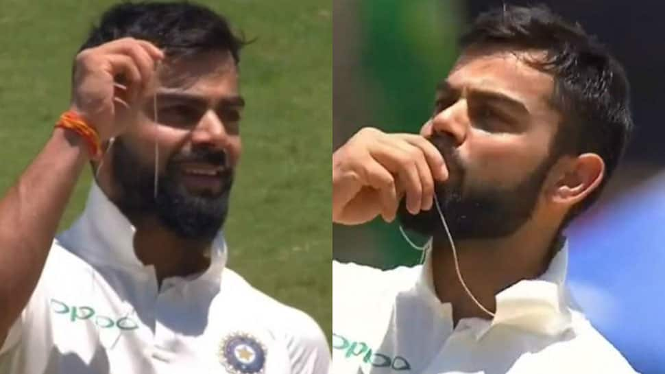 India vs South Africa: Virat Kohli kisses wedding ring to celebrate 150 at Centurion