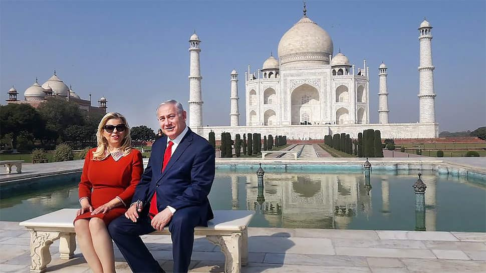 Israeli PM Benjamin Netanyahu calls Taj Mahal 'a place of serenity, love and infinite beauty'