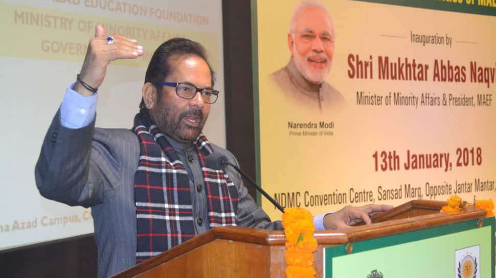 Discontinuing Haj subsidy welcomed by most Muslims, says Naqvi