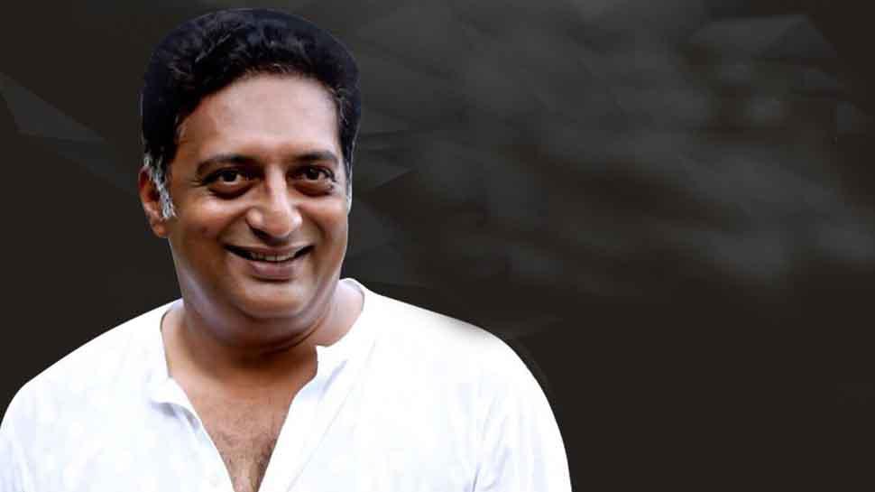 BJP members sprinkle 'divine' cow urine to cleanse stage where Prakash Raj gave a speech