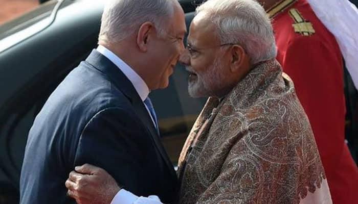 #IndiaIsraelDosti: PM Narendra Modi, Benjamin Netanyahu hold roadshow, visit Sabarmati ashram in Ahmedabad
