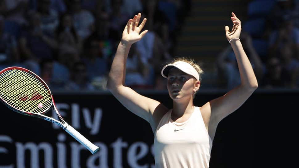 Australian Open: Dream grand slam debut continues for 15-year-old Marta Kostyuk