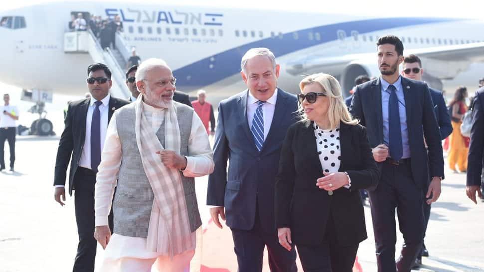 In Pics: Israeli PM Benjamin Netanyahu's Gujarat visit