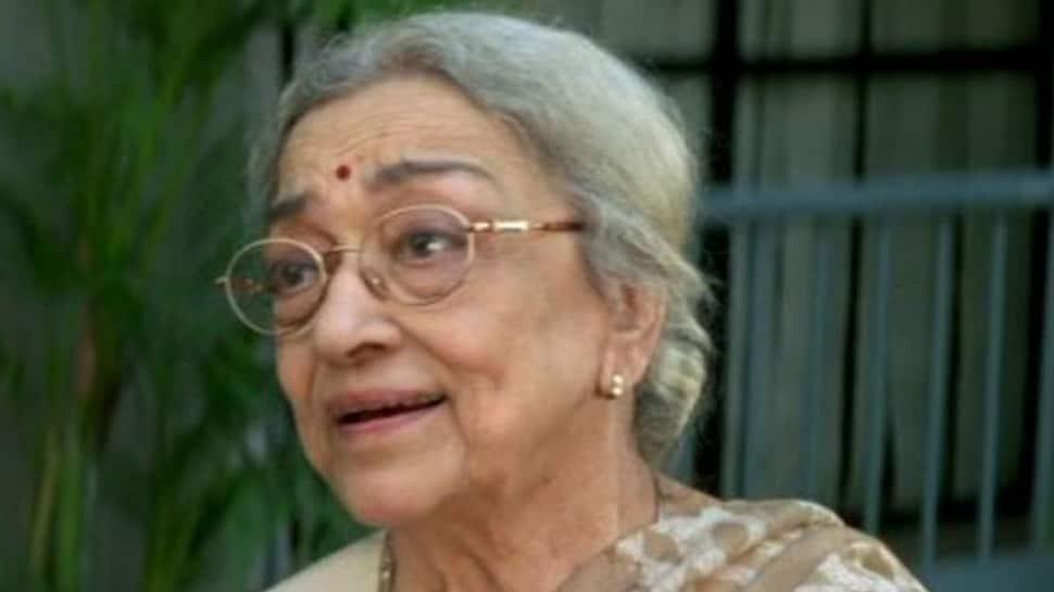 Devdas actress Ava Mukherjee passes Away At 88