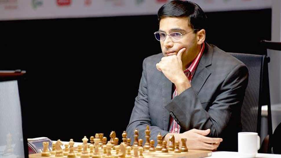 Viswanathan Anand draws with Wei Yi to stay in joint lead at Tata Masters Chess