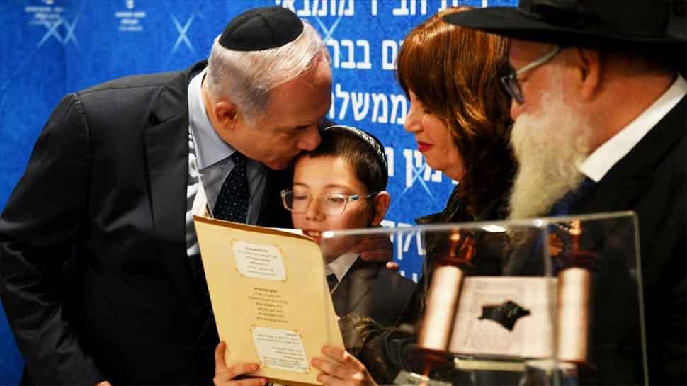 Israeli PM Benjamin Netanyahu meets 26/11 survivor 'Baby Moshe' at Nariman House